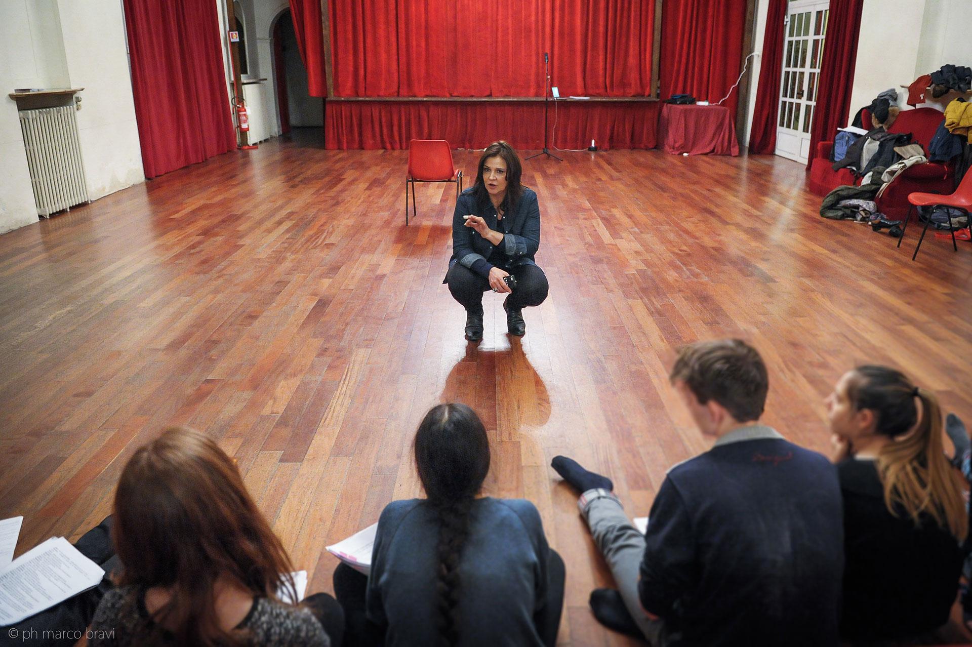 Lezione-al-Piccolo-Teatro-di-Giulietta-rita-colantonio
