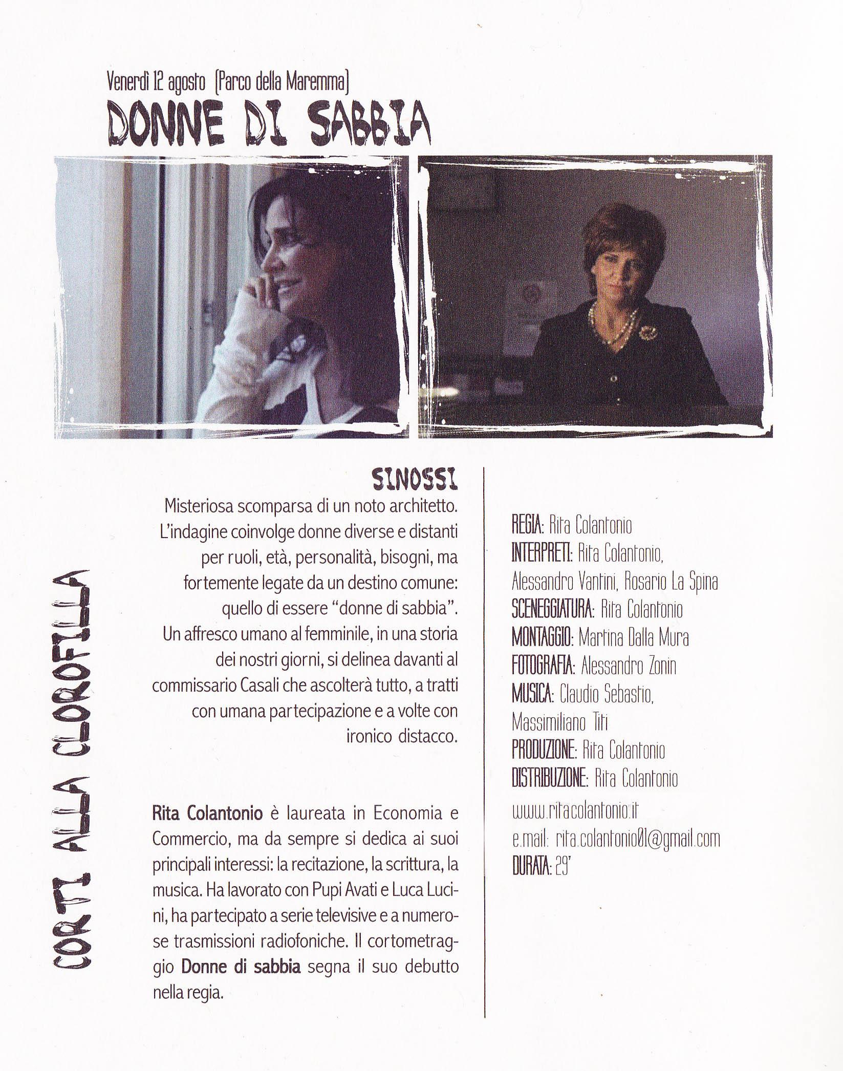 articolo Verona In su Donne di sabbia di Corinna Albolino_0001 MINI copia