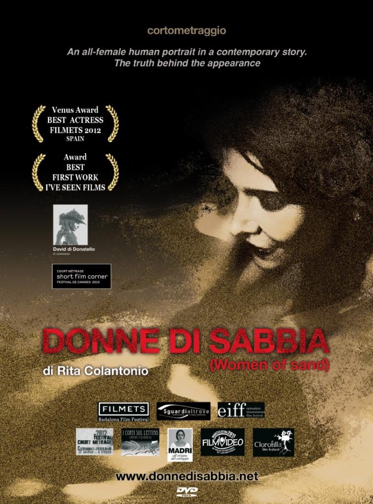 Donne di Sabbia cortometraggio locandina
