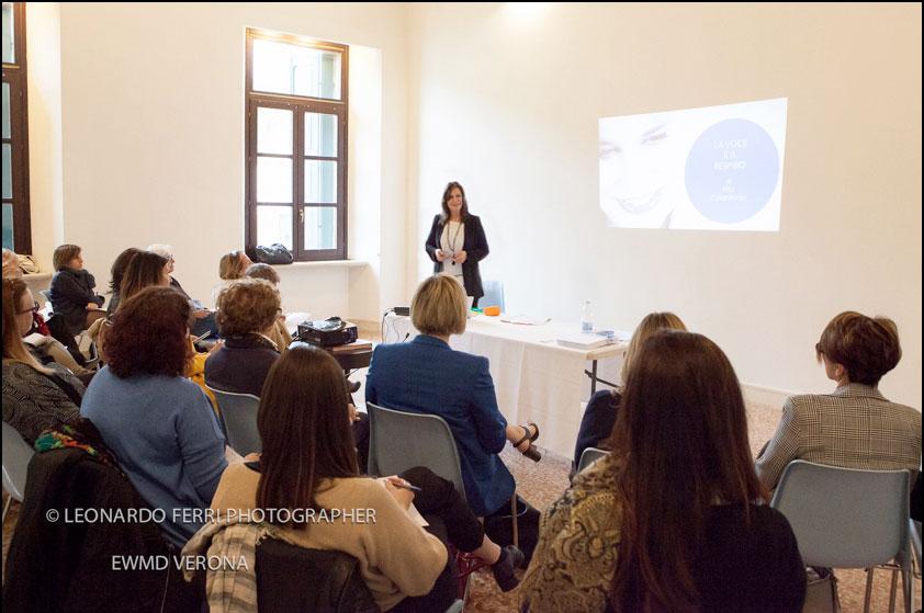 Rita Colantonio workshop uso della voce EWMD 2019