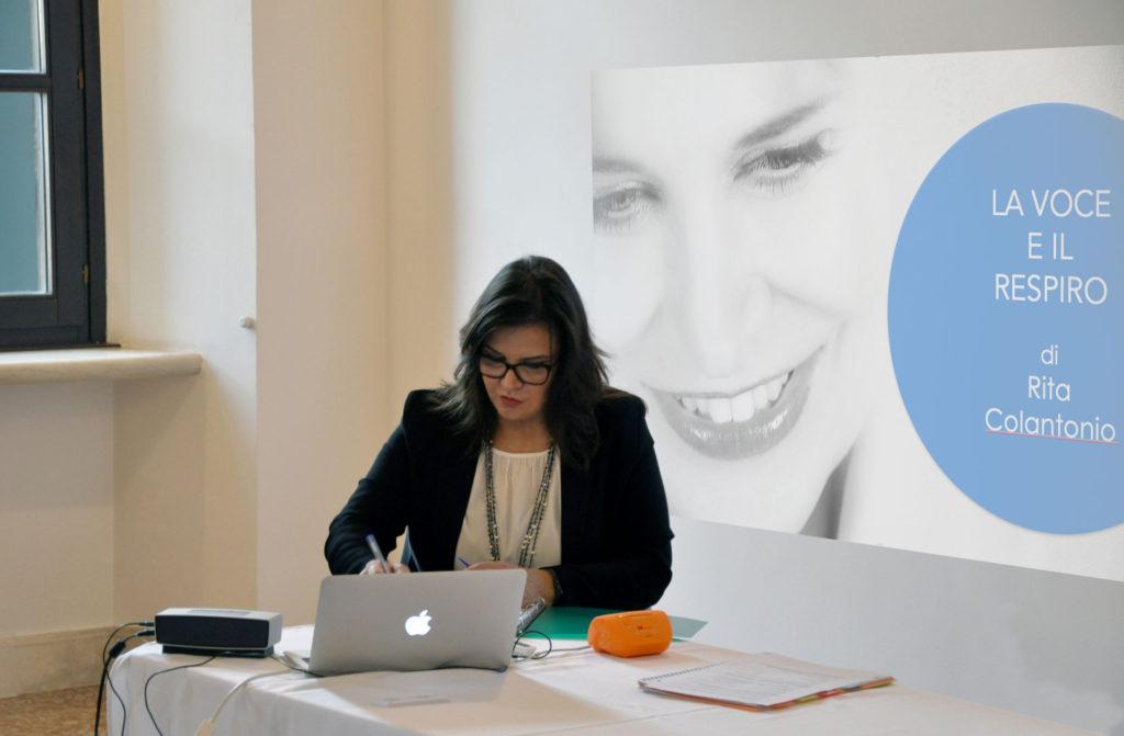 workshop assemblea nazionale EWMD uso della voce Rita Colantonio